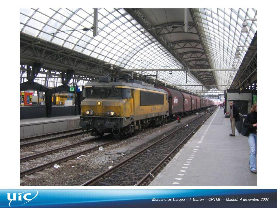 Mercancías Europa – I. Barrón – CPTMF – Madrid, 4 diciembre 2007