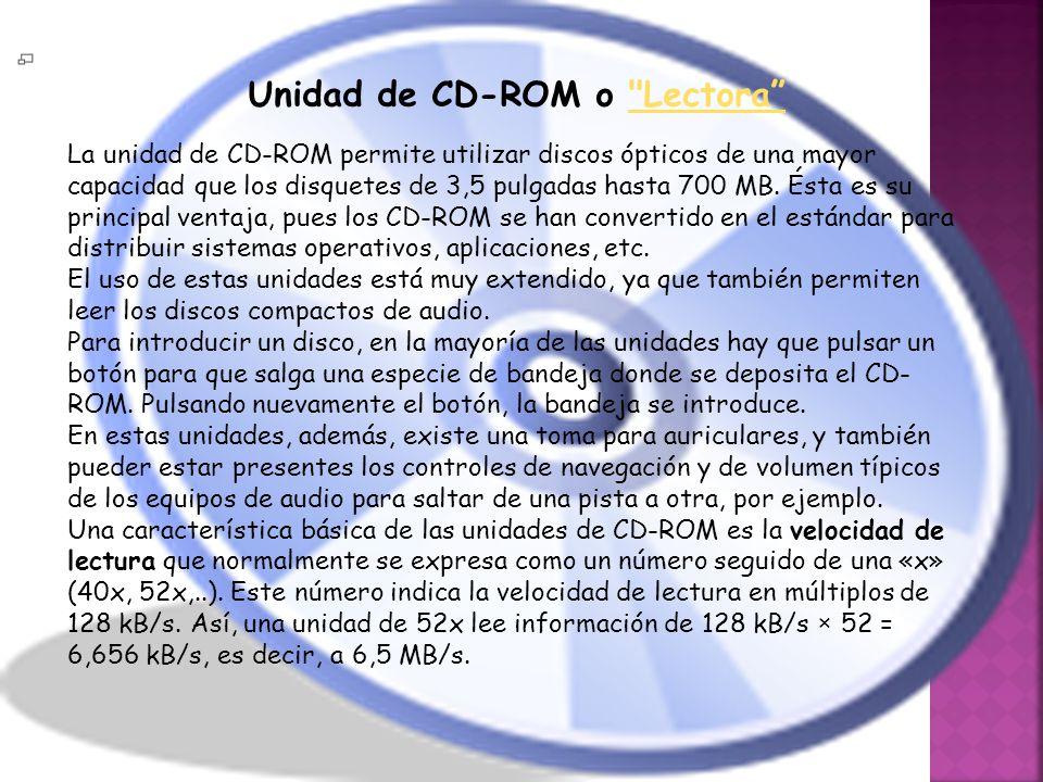 Unidad de CD-ROM o