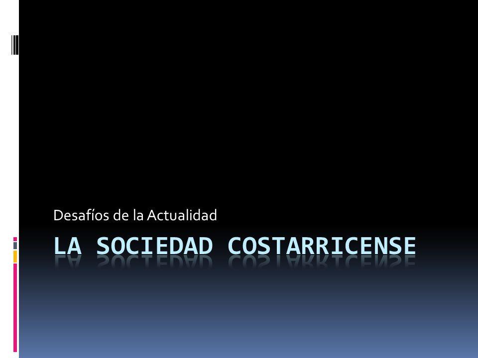 Analizaremos los desafíos que debe enfrentar la sociedad costarricense actualmente… COMBATE DEL NARCOTRÁFICO: El uso de drogas adquirió niveles alarmantes durante los 90, los primeros registros sobre el consumo de drogas datan desde los años 70; drogas como marihuana, L.S.D y las anfetaminas.