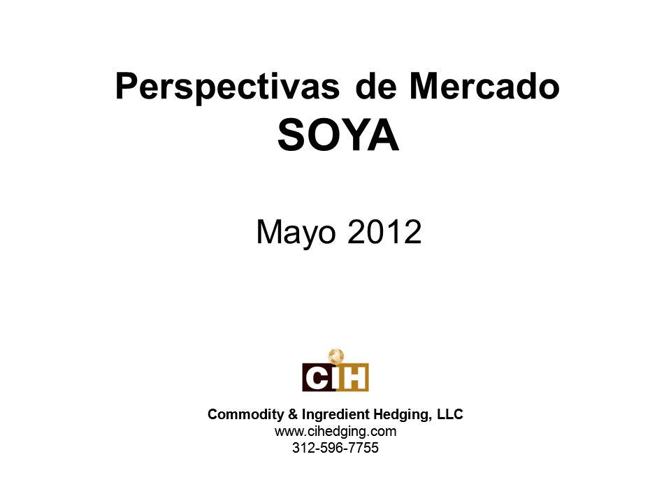 Los inventarios finales mundiales del ciclo 2011/2012 fueron reducidos 2.28 millones de toneladas a un total de 53.24 millones de toneladas debido principalmente a una reducción en los pronósticos de producción en Suramérica.