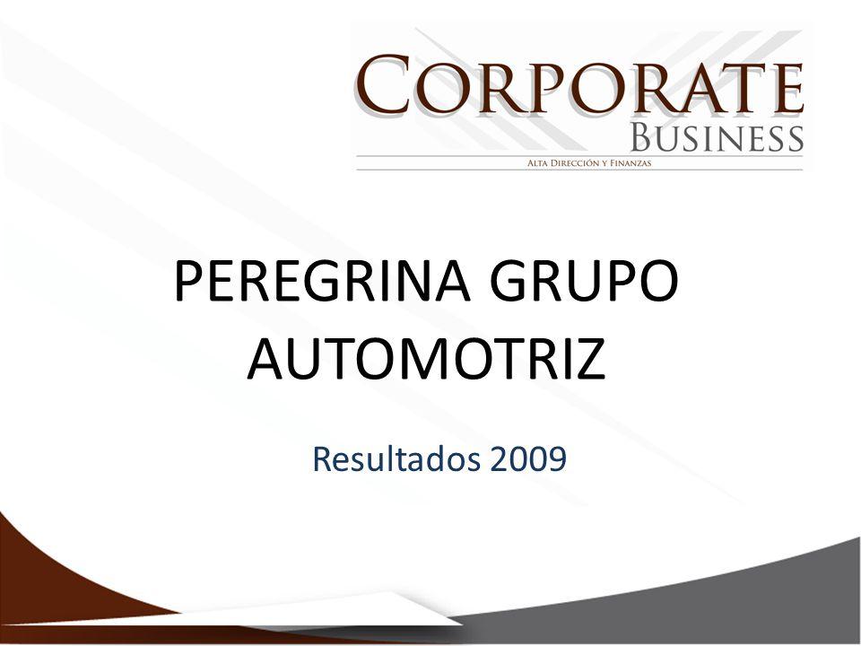 PEREGRINA GRUPO AUTOMOTRIZ Resultados 2009