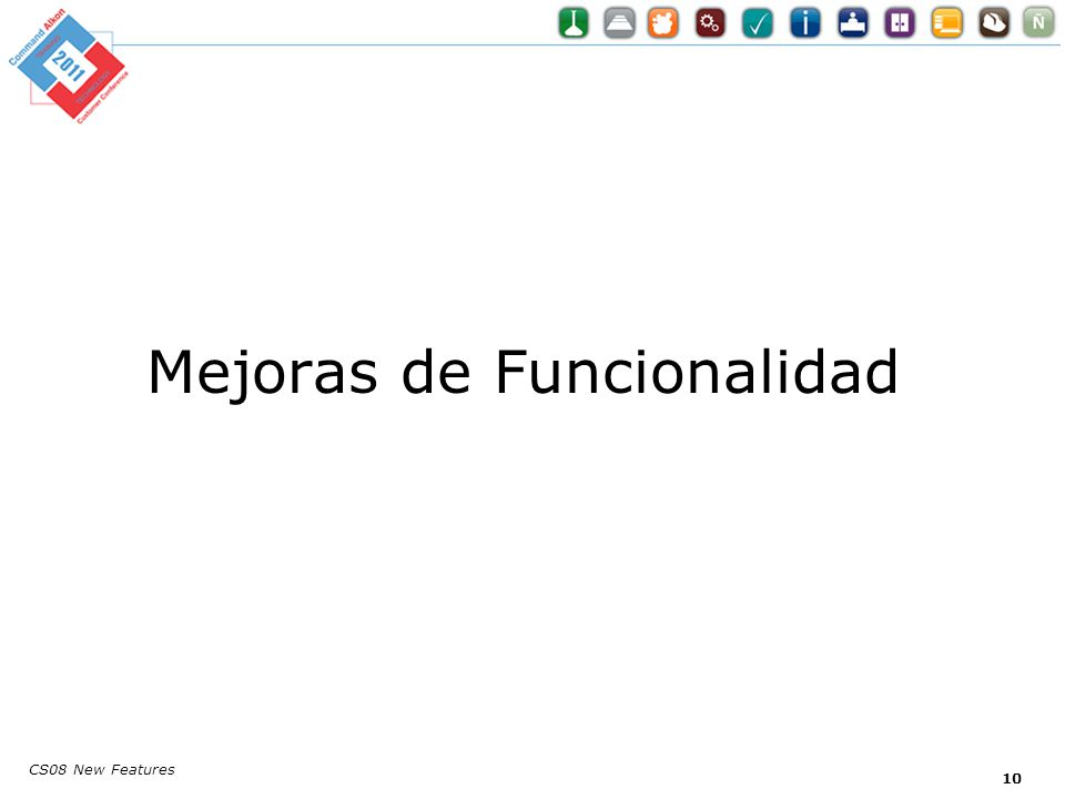 CS08 New Features Mejoras de Funcionalidad 10