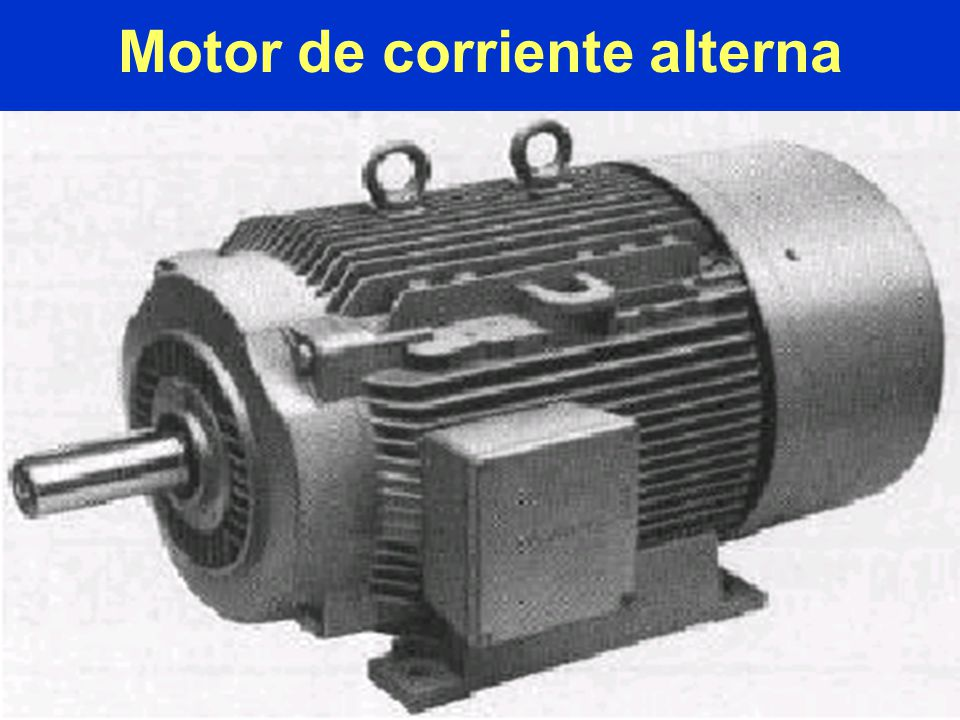 Motor de corriente alterna