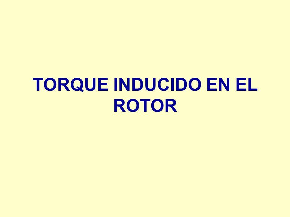 TORQUE INDUCIDO EN EL ROTOR