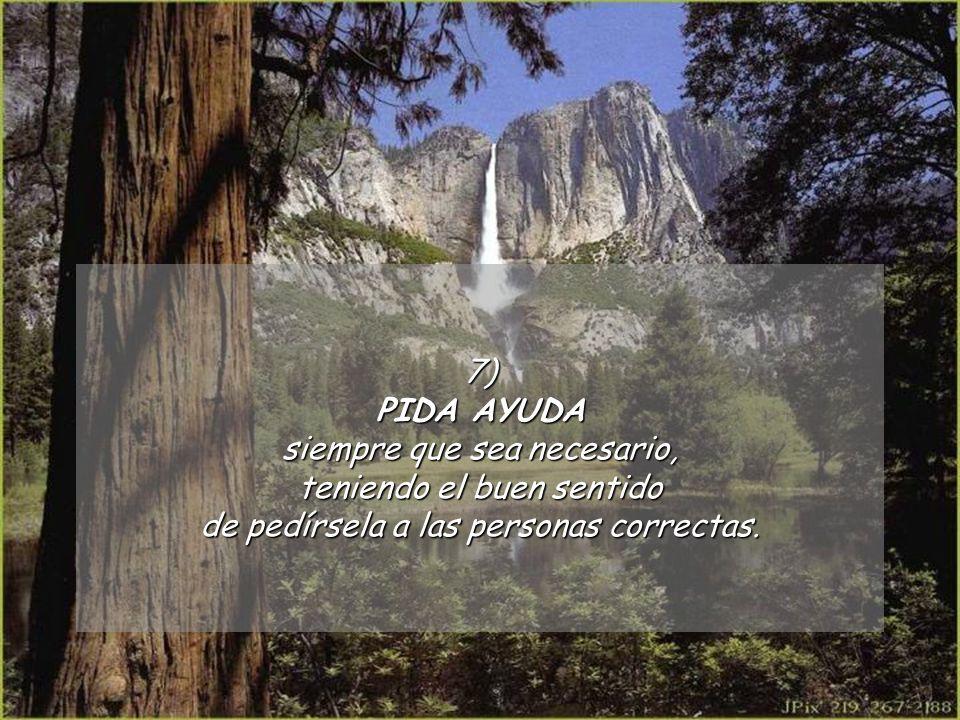 6)DEJE de sentirse responsable por el placer de los otros. Usted no es fuente de los deseos, ni el eterno maestro de ceremonia.