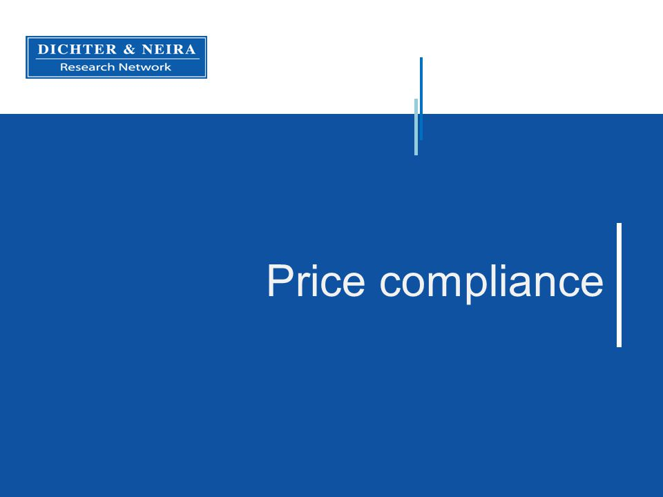 Price compliance