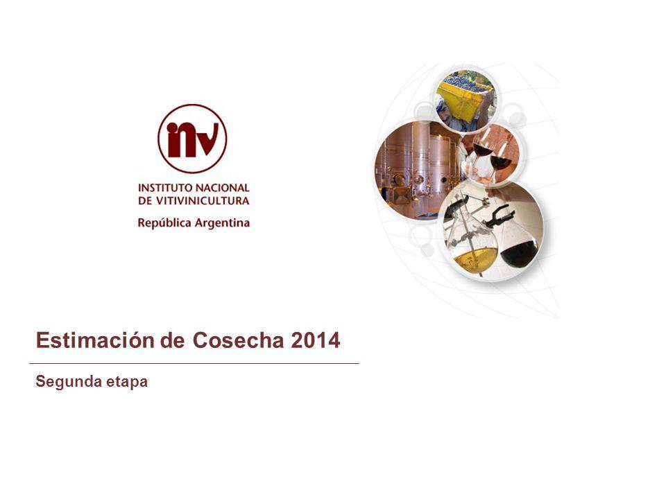 Estimación de Cosecha 2014 Segunda etapa