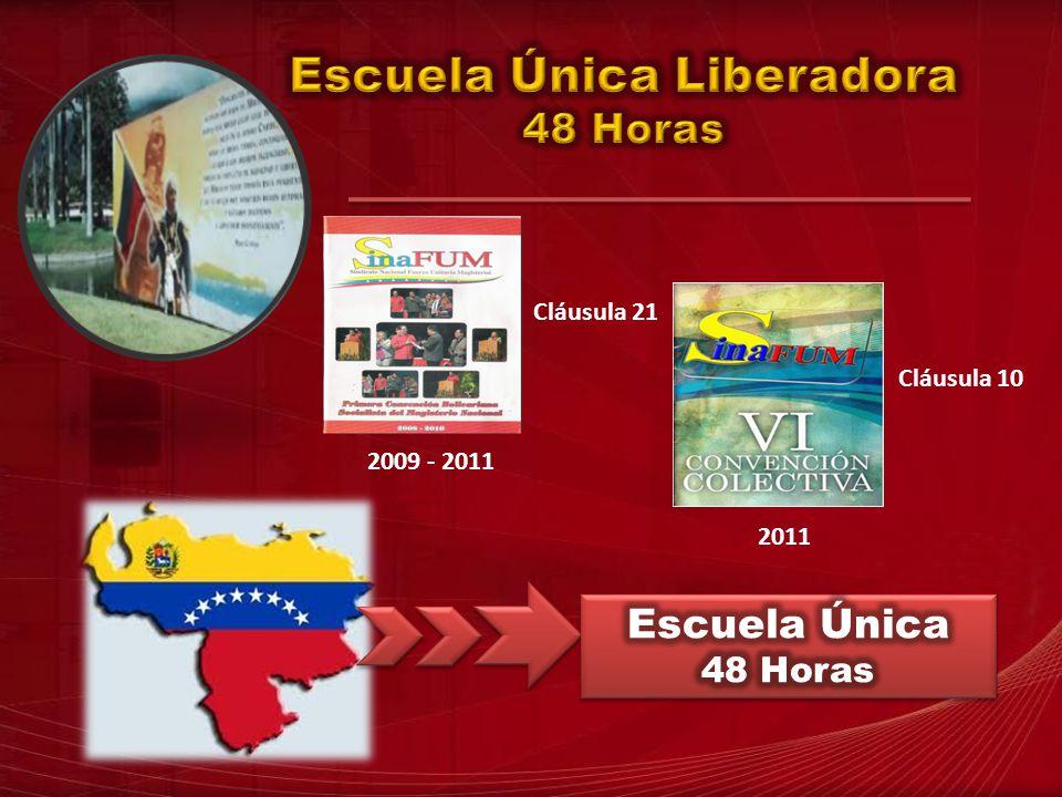 2009 - 2011 Cláusula 21 2011 Cláusula 10