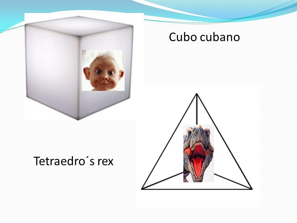 Cubo cubano Tetraedro´s rex
