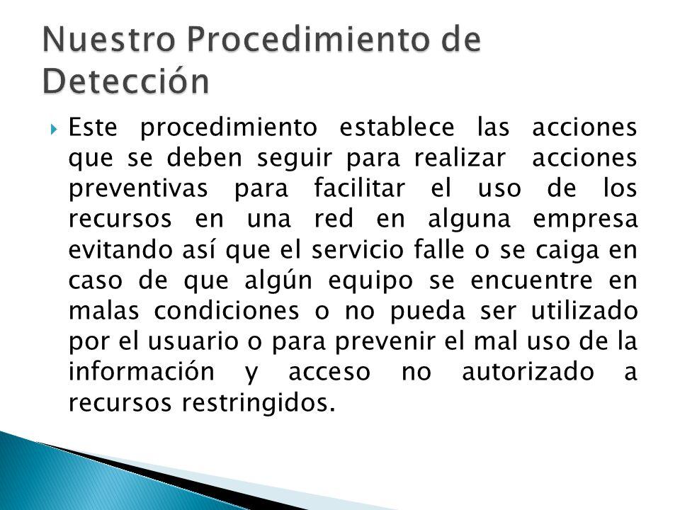 Dar un mejor servicio de red asegurando que el servicio este siempre disponible de acuerdo a los parámetros de seguridad preestablecidos.