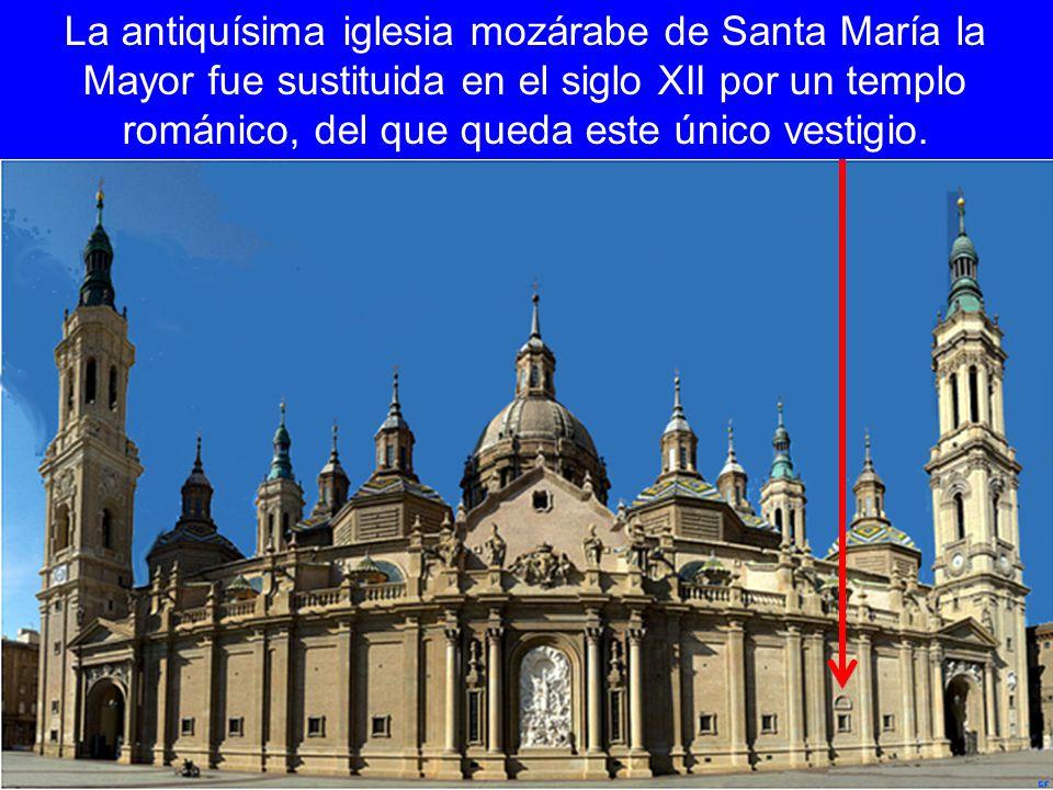 La antiquísima iglesia mozárabe de Santa María la Mayor fue sustituida en el siglo XII por un templo románico, del que queda este único vestigio.
