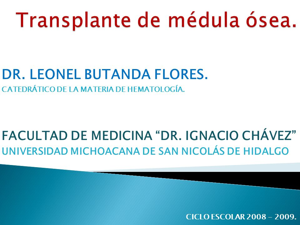 DR.LEONEL BUTANDA FLORES. CATEDRÁTICO DE LA MATERIA DE HEMATOLOGÍA.