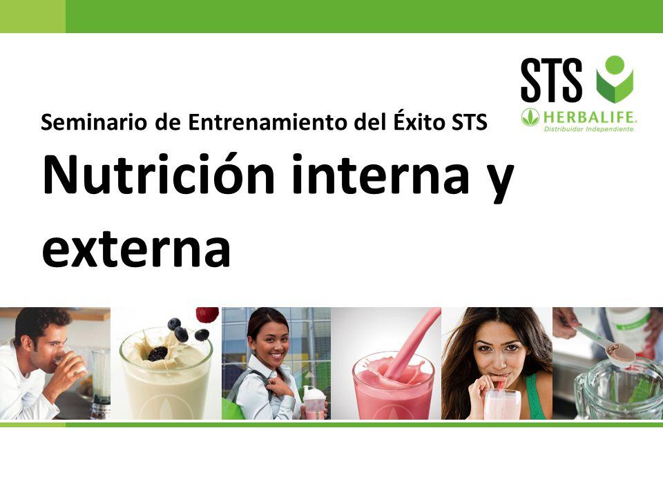 Seminario de Entrenamiento del Éxito STS Nutrición interna y externa