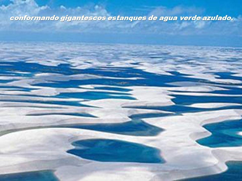 Aunque los lagos permanecen todo el año, es en éstos meses cuando están más extensos,