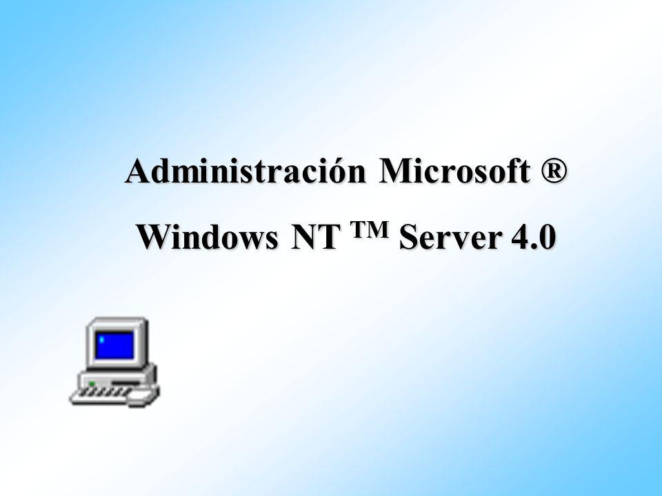 Configuración del aula - 1 Servidor Windows NT Domain 1 PDC \\Student1 PDC \\ Student2 Servidor Windows NT (PDC) y Windows Workstation Classroom \\ Instructor