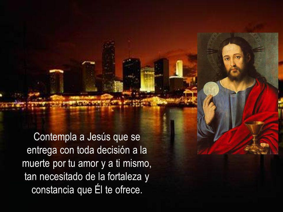 Por la gracia de la entrega de Jesús, ya estamos capacitados para amarnos mutuamente.