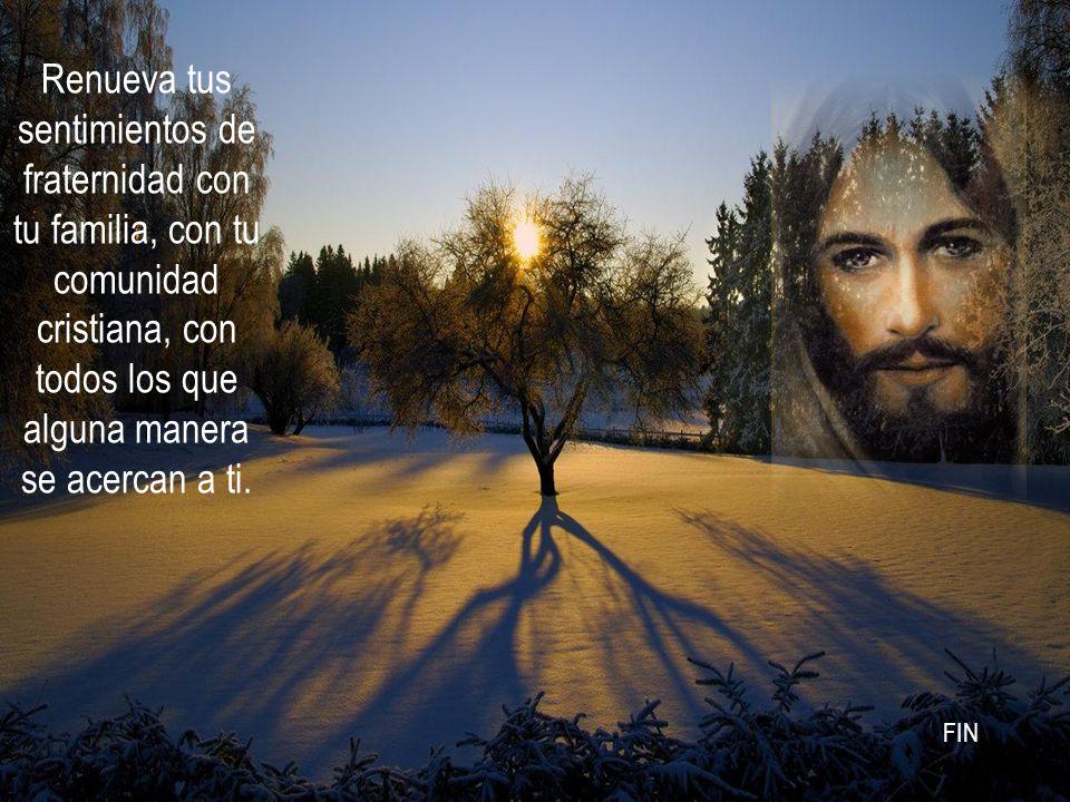 Haz un gesto de amor, como Jesús, humillándote, acercándote al que menos lo espera.
