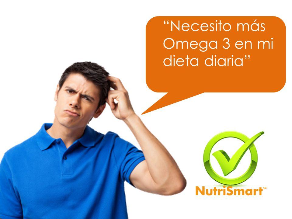 Necesito más Omega 3 en mi dieta diaria