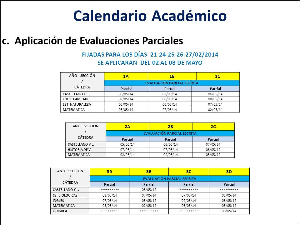 Calendario Académico c.
