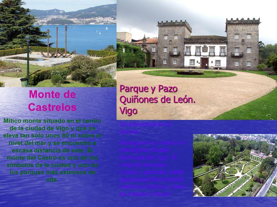 Ría de Vigo Todas las Rías Bajas son sencillamente preciosas… Seguimos rumbo a Vigo