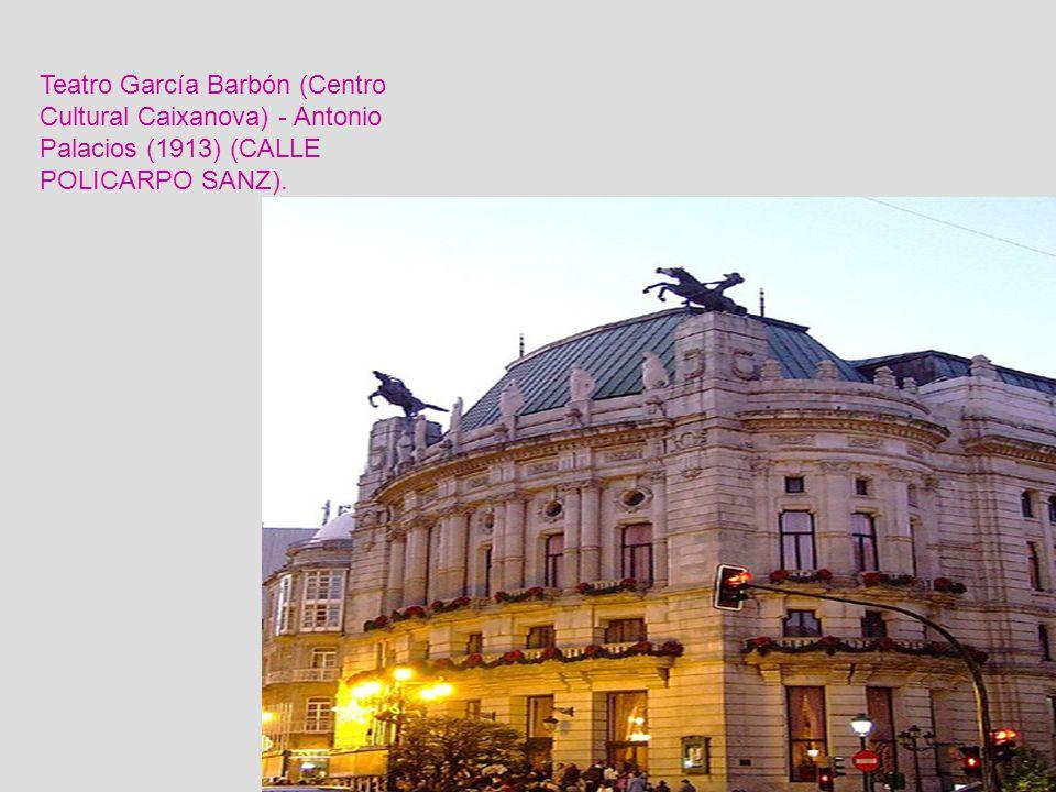 Parque y Pazo Quiñones de León. Vigo Se encuentra en el parque. Alberga en su interior el prestigioso Museo Municipal de Vigo. El conjunto de pazo, mu