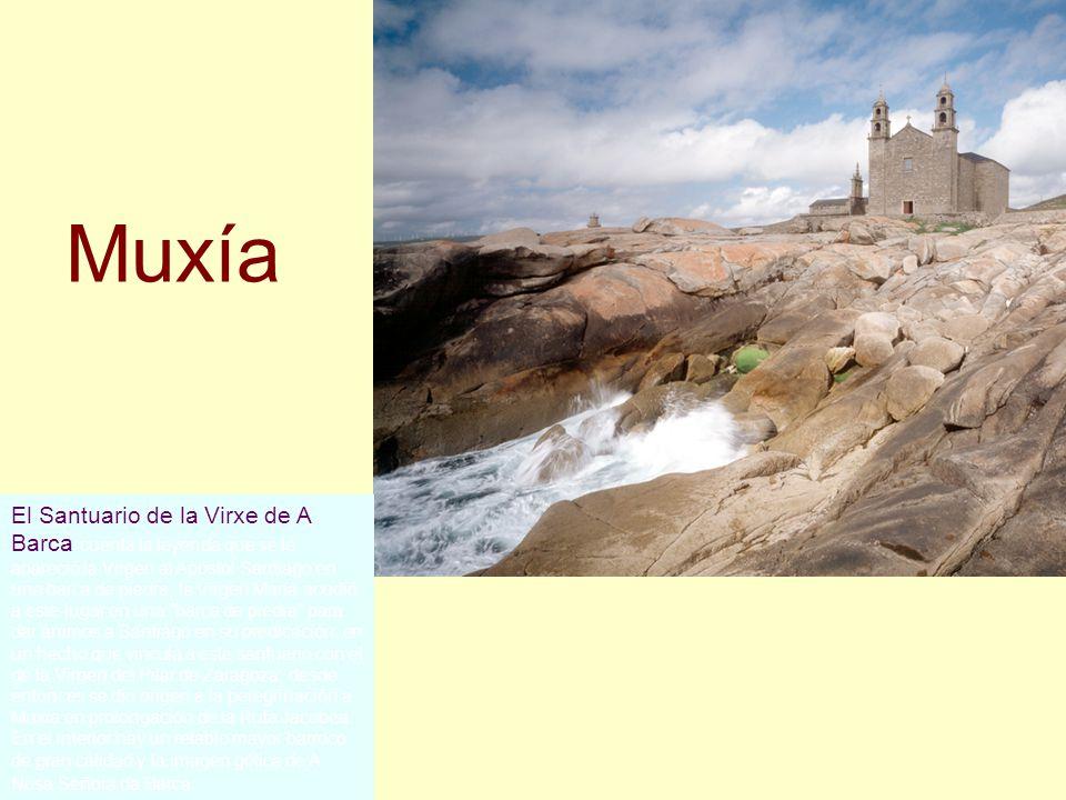 Cascada de Ézaro Es la única cascada de Europa que desemboca en el mar, por lo que la convierte en un lugar insólito digno de visitar. Está situada pr