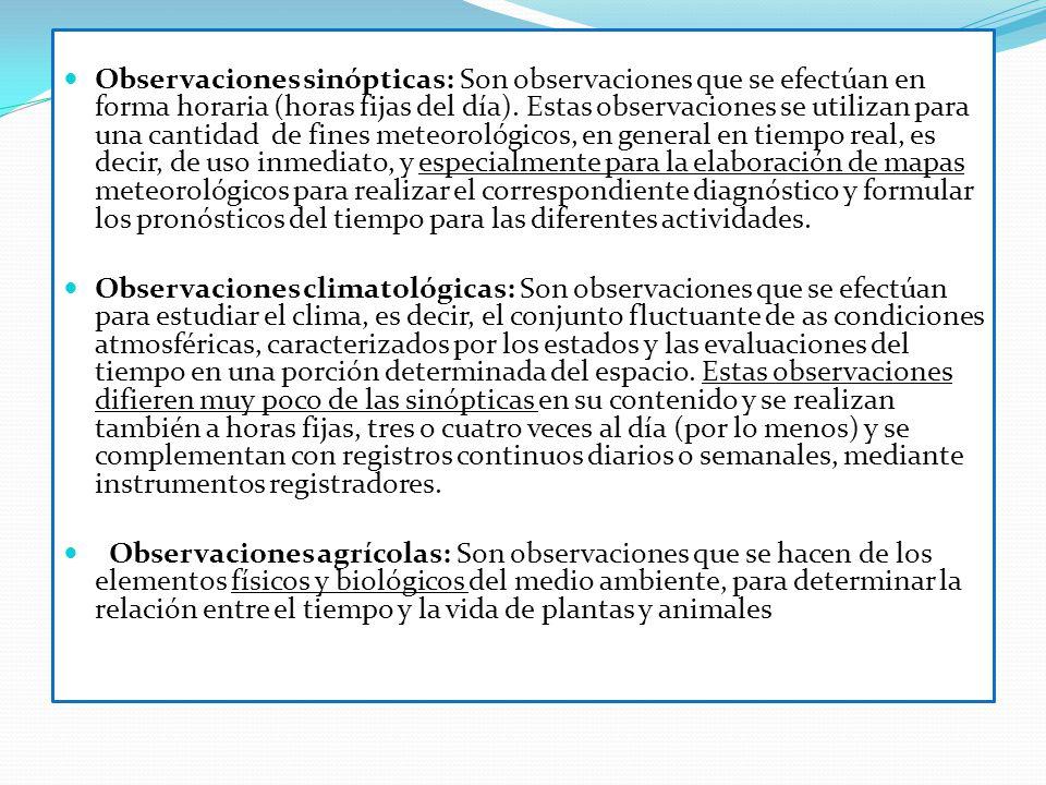 INSTRUMENTAL METEOROLOGICO - Psicrómetro - Pluviómetro - Anemómetro - Veleta - Tanque de Evaporación - Heliógrafo - Termohigrógrafo - Geotermógrafos - Anemógrafos - Microbarógrafos - Barometros
