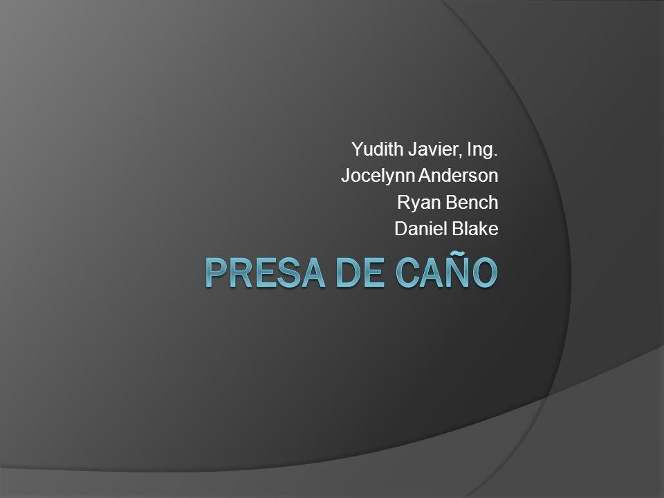 Yudith Javier, Ing. Jocelynn Anderson Ryan Bench Daniel Blake