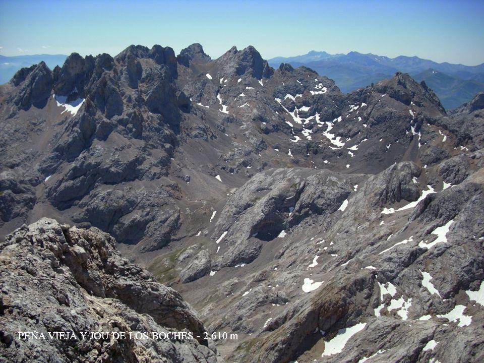 CUMBRE DE LA PARDIDA Y LLAMBRION - 2.640 m