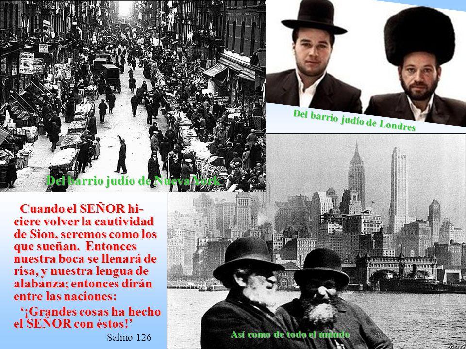 La Nación, dispersa por todo el mundo por muchos siglos, vuelve a disponer de una tierra propia. Nace como Estado en 1948 y millones de judíos empieza