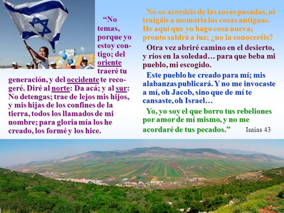 Nunca más… Y nunca más será(n) a la casa de Israel espina desgarradora, ni aguijón que le dé dolor, en medio de cuantos la rodean y la menosprecian; y