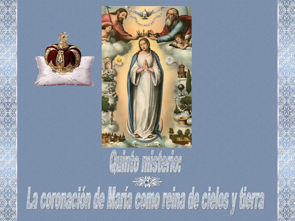 María, por tu hogar los serafines, los seres de la altura, angelicales, entonan melodías celestiales y danzan en Belén los querubines. Hacia Jerusalén