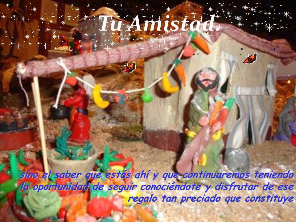 Para nosotros lo especial de la Navidad no son los árboles, ni las luces, ni siquiera este Nacimiento,