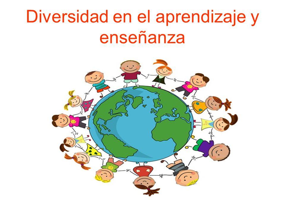 Diversidad en el aprendizaje y enseñanza