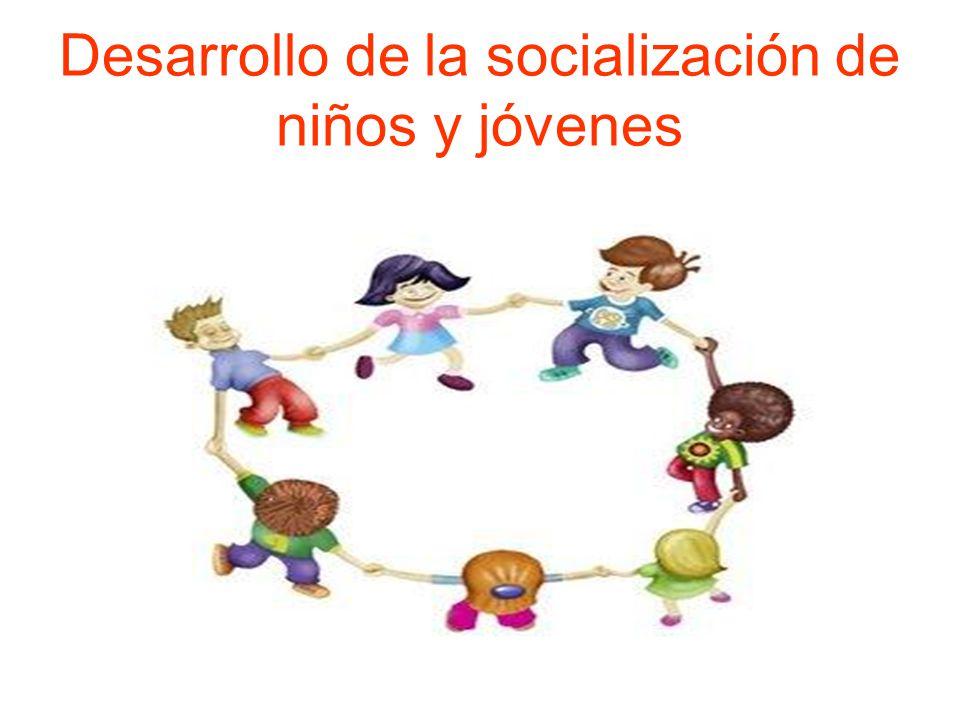 Desarrollo de la socialización de niños y jóvenes