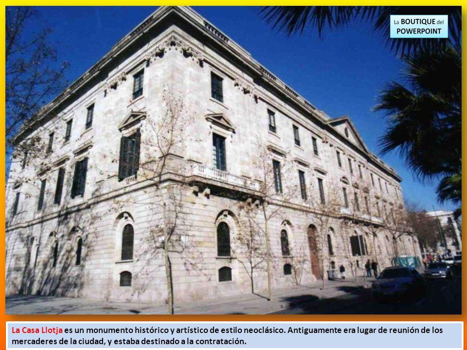 MUSEU REIAL ACADEMIA CATALANA DE BELLES ARTS DE SANT JORDI I LA LLOTJA MANEL CANTOS PRESENTATIONS Blog BARCELONA COMPLET canventu@hotmail.com BARCELON