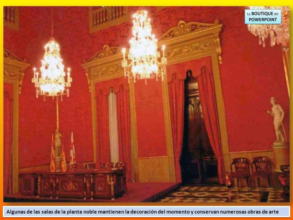 Fue sede de grandes bailes y de la fiesta de la restauración dels Jocs Florals