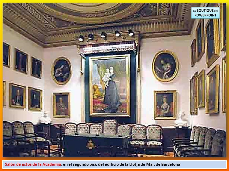 Reial Acadèmia Catalana de Belles Arts de Sant Jordi es uno de los primeros museos de arte que existió en Catalunya. Iniciado el siglo XVIII por L `Es