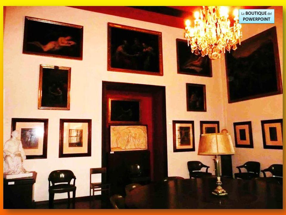 Salón exposición dedicado a las obras de Marià Fortuny