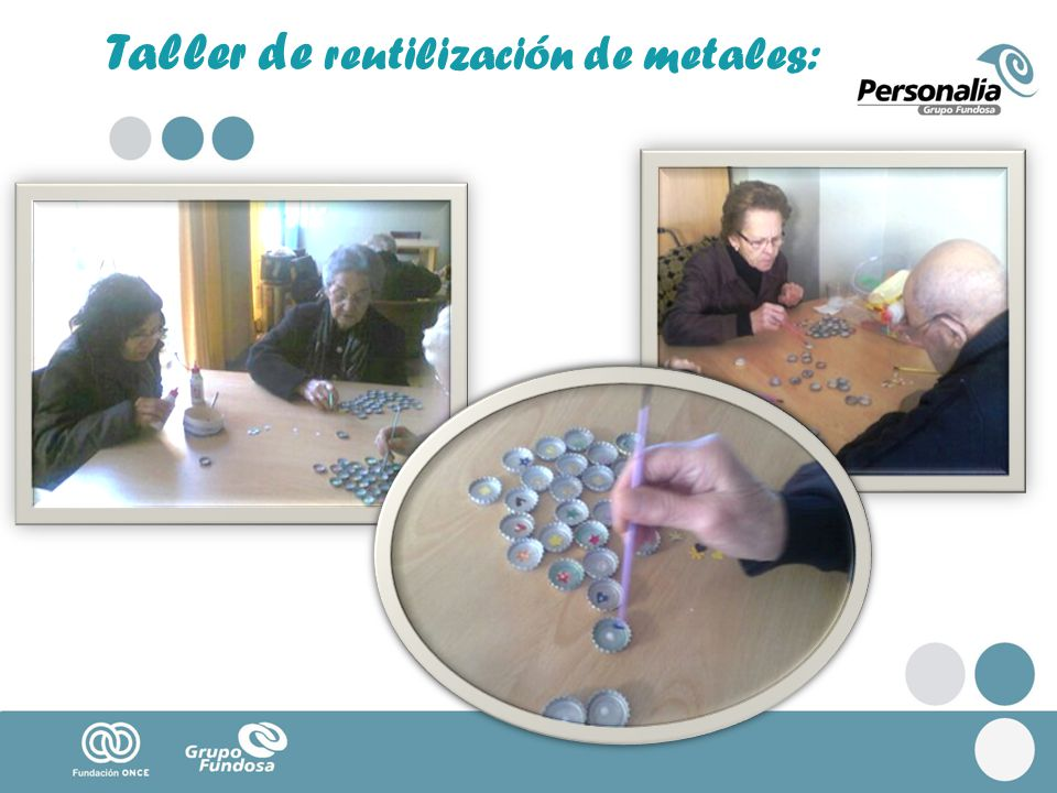 Taller de reutilización de metales: