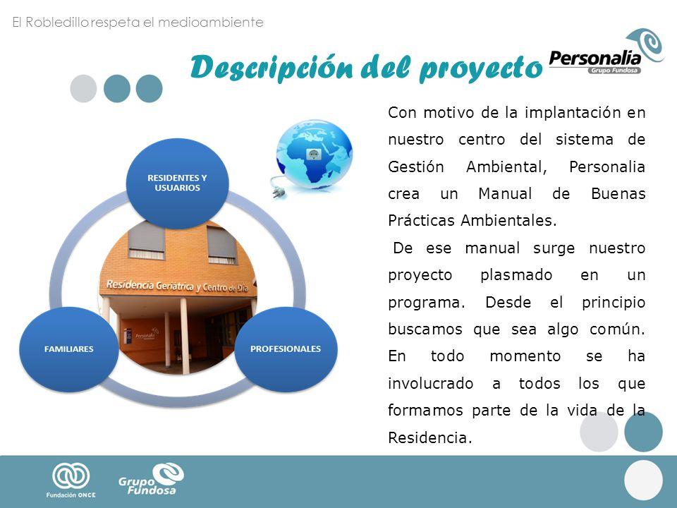 Con motivo de la implantación en nuestro centro del sistema de Gestión Ambiental, Personalia crea un Manual de Buenas Prácticas Ambientales. De ese ma