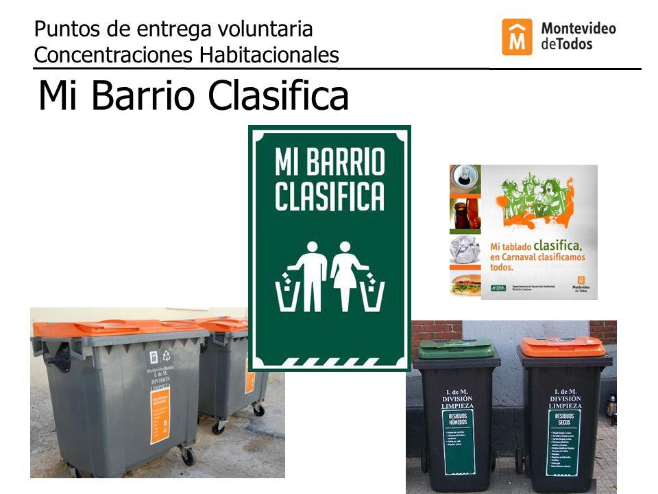 Tu envase sirve Montevideo implementa la Ley de Envases Puntos de entrega voluntaria Grandes Superficies Comerciales