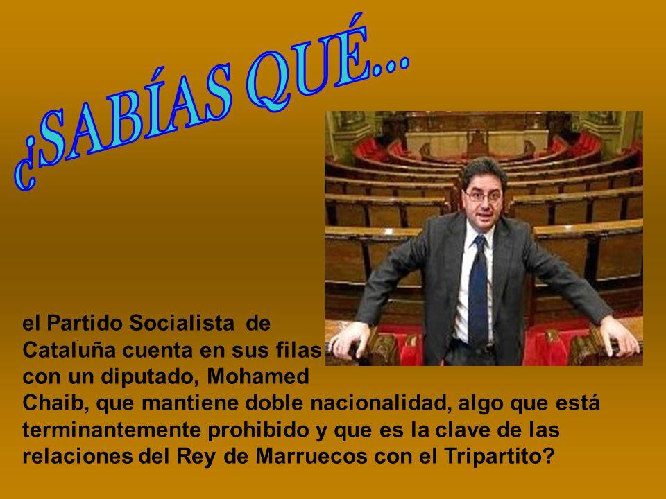 El PSOE en el 2004, pactó con Mohamed VI acoger trabajadores marroquíes a cambio de inversiones de empresas catalanas en Marruecos, recibiendo la orden los Ayuntamientos de Cataluña de impedir a la Policía la expulsión de los sin papeles