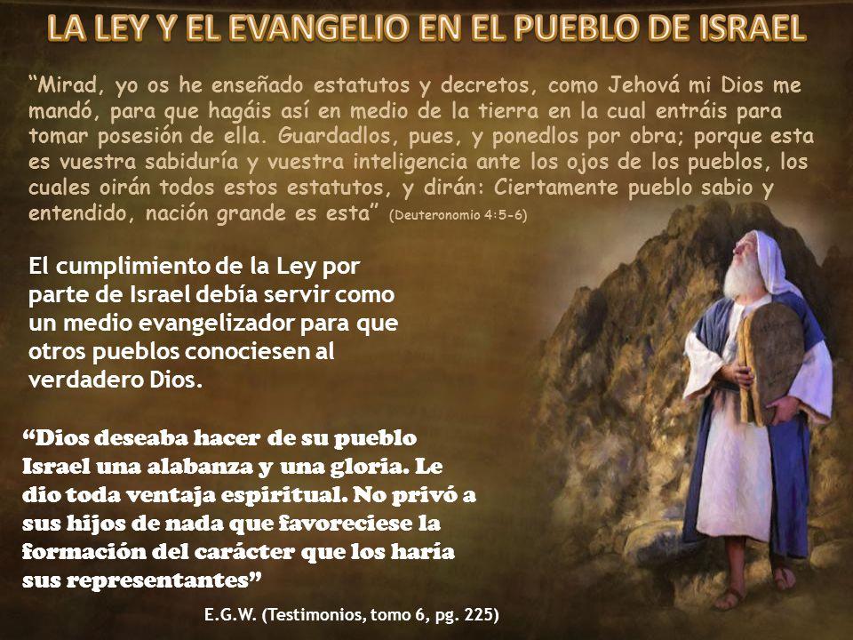 Mirad, yo os he enseñado estatutos y decretos, como Jehová mi Dios me mandó, para que hagáis así en medio de la tierra en la cual entráis para tomar p