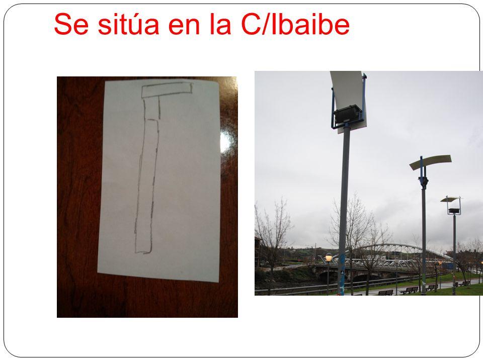 Se sitúa en la C/Ibaibe