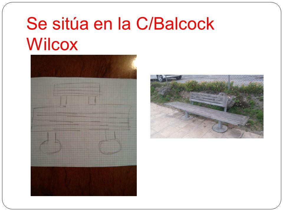 Se sitúa en la C/Balcock Wilcox