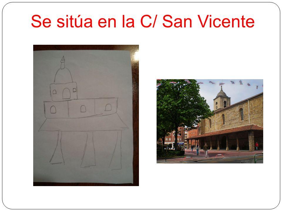Se sitúa en la C/ San Vicente