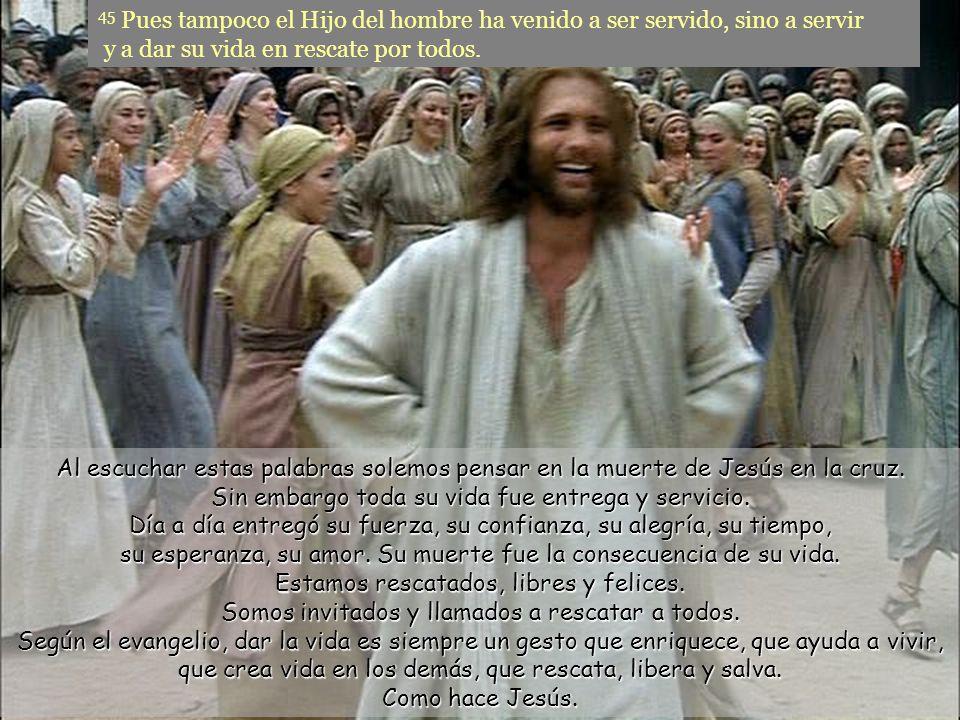 Quien oprime no tolera a quien libera, ni quien cree tener poder a quien anuncia el reino de Dios.
