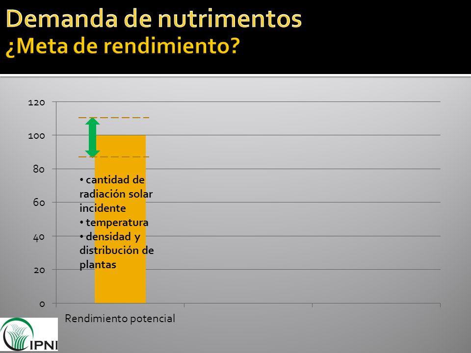 cantidad de radiación solar incidente temperatura densidad y distribución de plantas