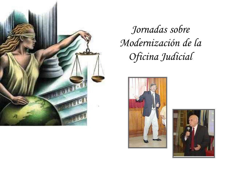 Jornadas sobre Modernización de la Oficina Judicial